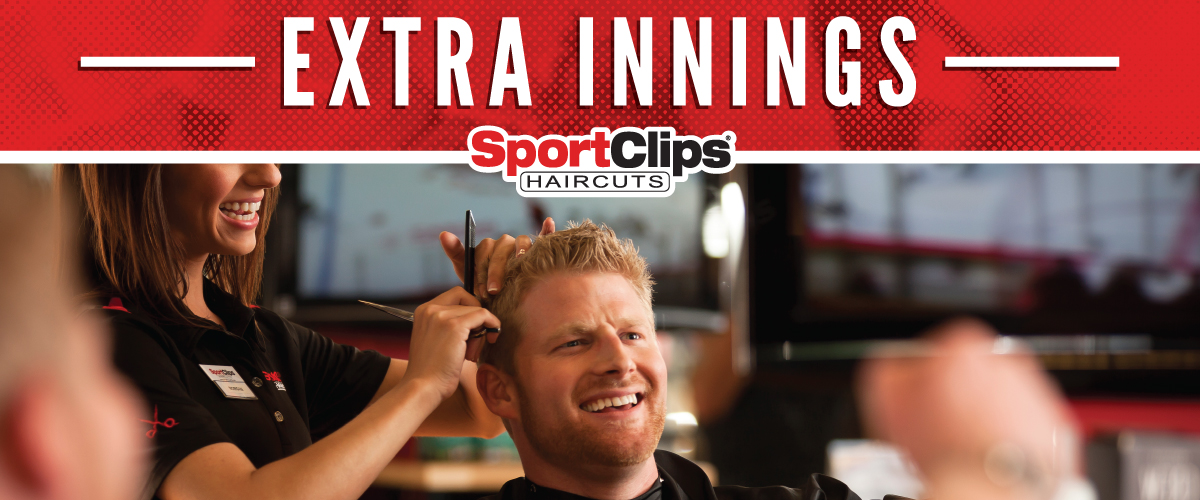 The Sport Clips Haircuts of Westerville Extra Innings Offerings